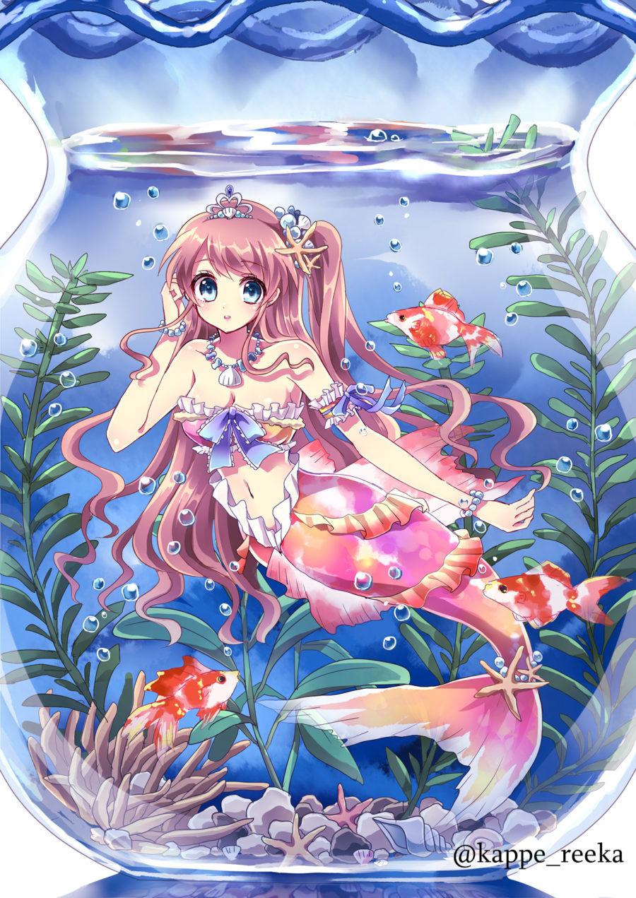 【オリジナル】金魚姫
