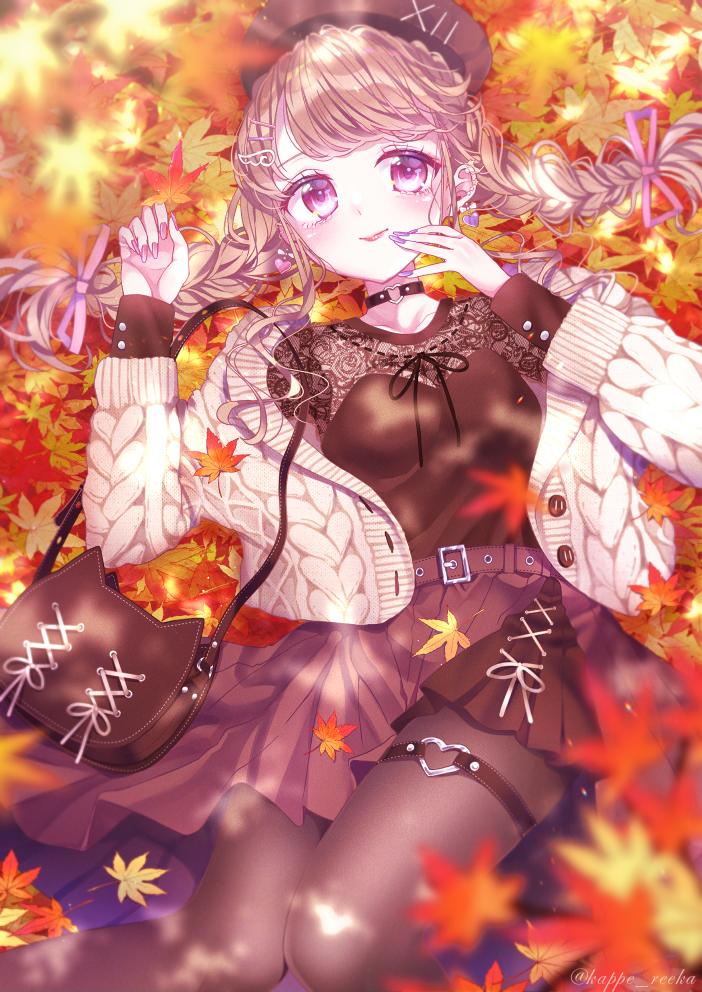 【オリジナル】秋の木漏れ日