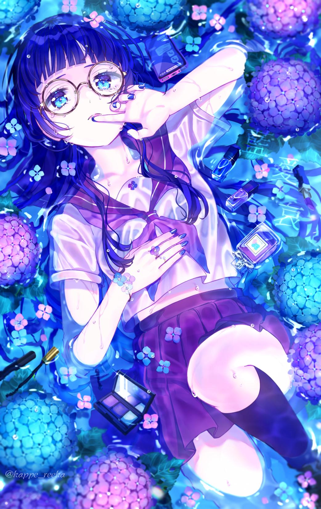 【オリジナル】藍、愛、哀。