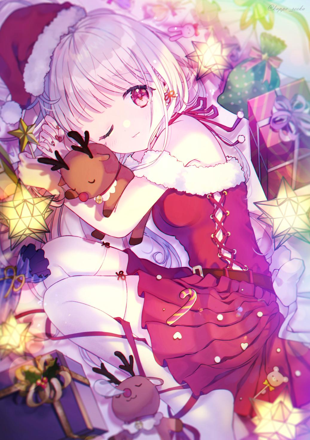 【オリジナル】お寝坊サンタクロース